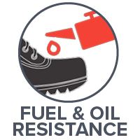 Fuel and Oil Resistance