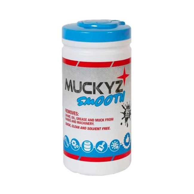 Muckyz Smooth Degreasing Wipes (x80)
