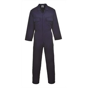 Polycotton Stud Front Overall
