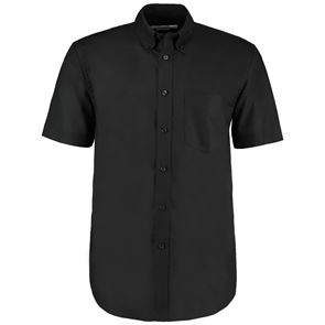 Mens Deluxe Short Sleeve Oxford Shirt