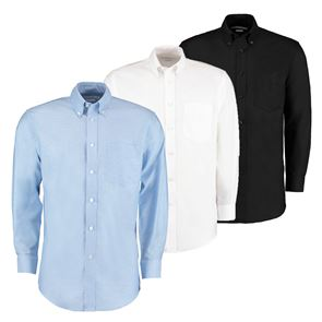 Mens Deluxe Long Sleeve Oxford Shirt