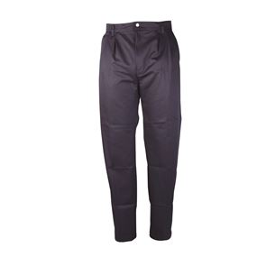 Mens Pleat Front Trousers