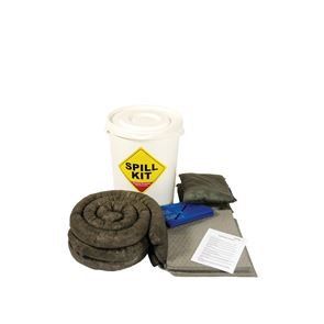 Maintenance Spill Kit in Plastic Container