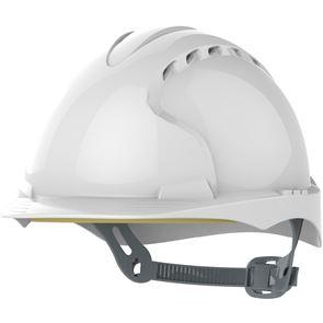 Vented Helmet With Slip Ratchet