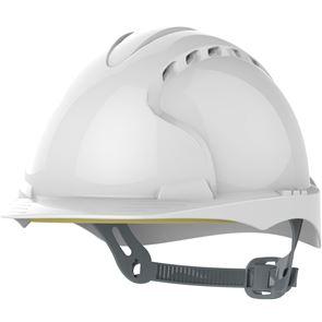 Safety Helmet Mid Peak Vented Slip Ratchet