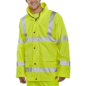High Visibility Water-Resistant Breathable Jacket