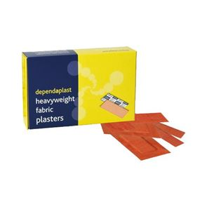 Fabric Assorted Plasters (x100)