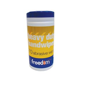 Abrasive Hand Cleansing Wipes (x80)