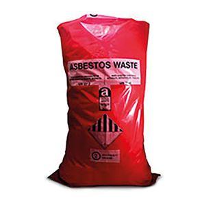 Red Asbestos Bags (x100)