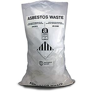 Clear Asbestos Bags (x100)