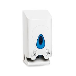 Twin Conventional Toilet Roll Dispenser