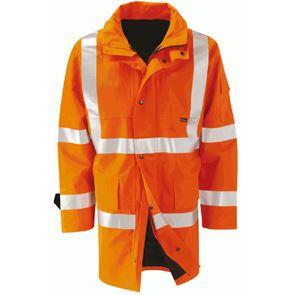 Hi Vis Waterproof Breathable Coat