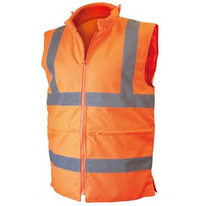 High Visibility Padded Bodywarmer
