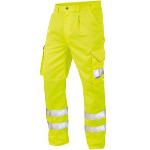 Premium Polycotton High Visibility Cargo Trousers