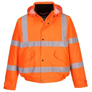 High Visibility Waterproof Bomber Jacket