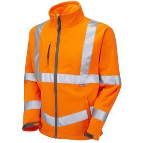 High Visibility Stretch Softshell Jacket