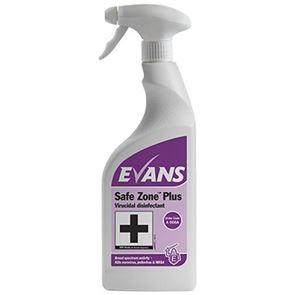 Safe Zone Liquid Sanitiser 750ml (x6)