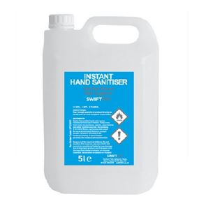 Instant Hand Sanitiser with 60% Alcohol content 5L