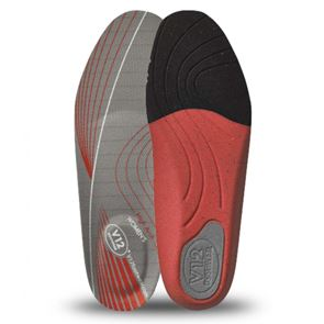Dynamic Arch Red High Womens Insole
