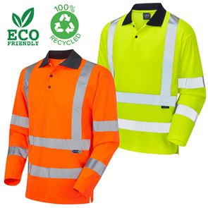 EcoViz Woolsery Class 3 Long Sleeved Polo Shirt