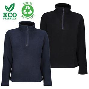100% Recycled Half Zip Fleece Jacket