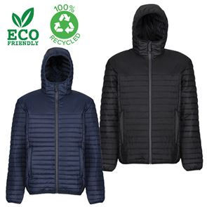 100% Recycled Thermal Hooded Jacket