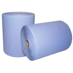 2 Ply Blue Workshop Wiper Roll (x2)