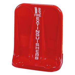 Fire Extinguisher Double Stand