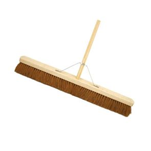 18 inch Coco Soft Broom Complete